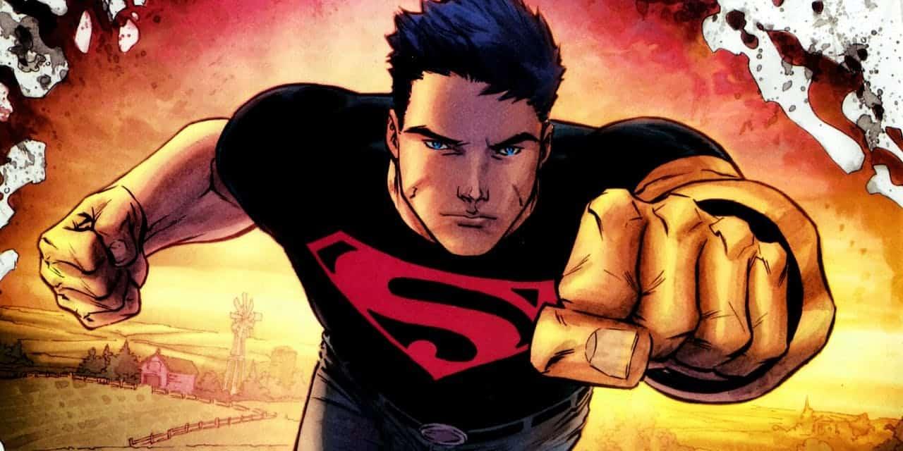 superboy llega a titans