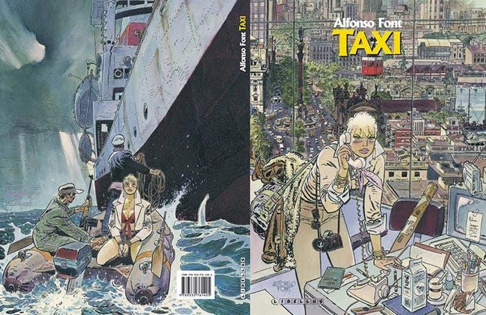 Taxi, de Alfonso Font (Planeta Cómic)