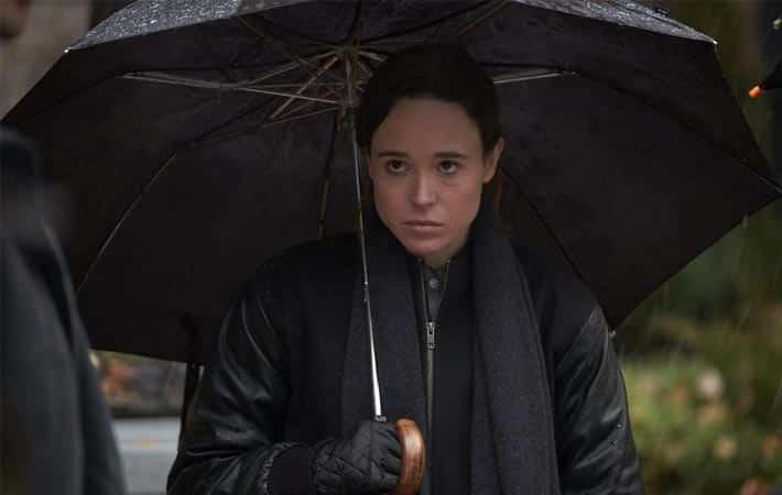 The Umbrella Academy: Las difíciles clases de violín de Ellen Page