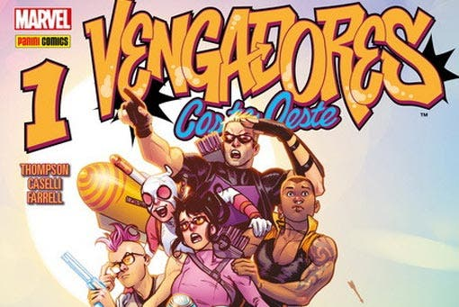 Vengadores Costa Oeste 1 (Marvel - Panini Cómics)