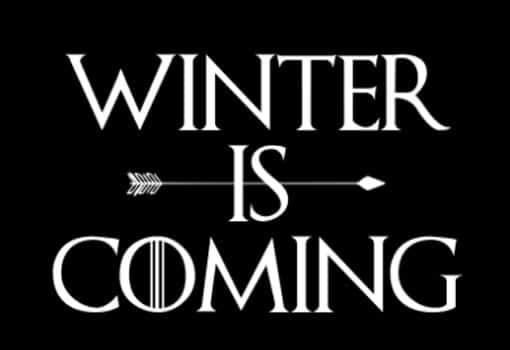 winter is comig juego de tronos
