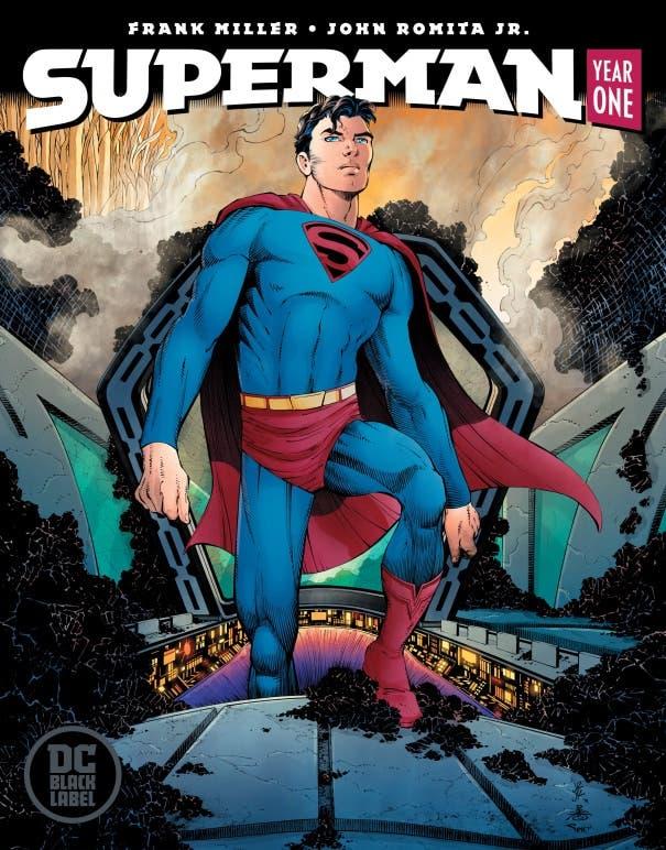 Portada Superman: Year one #1