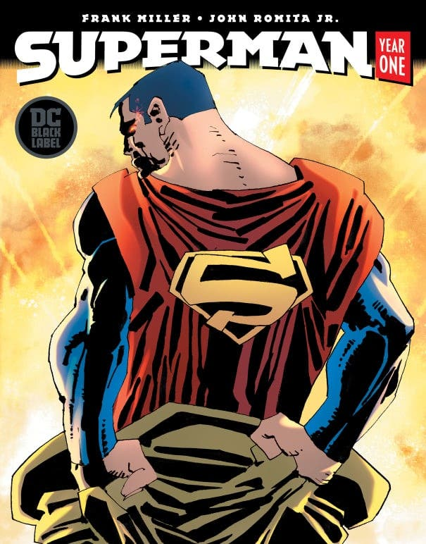 Portada Superman: Year one tomo