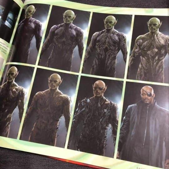 Capitana Marvel: Nick Furia un Skrull
