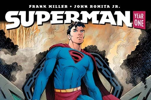 Portada Superman Year dest