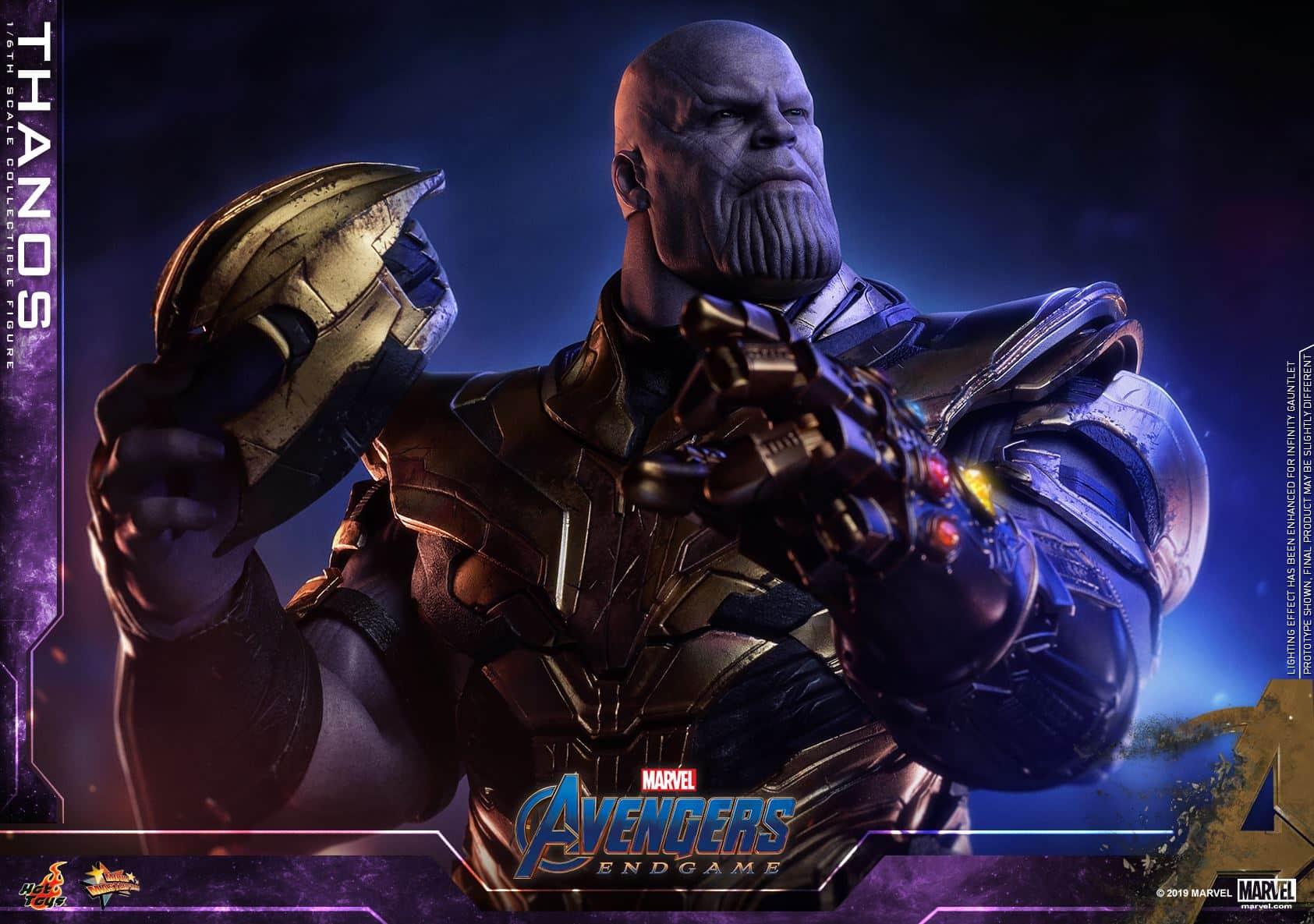 Thanos vengadores: endgame