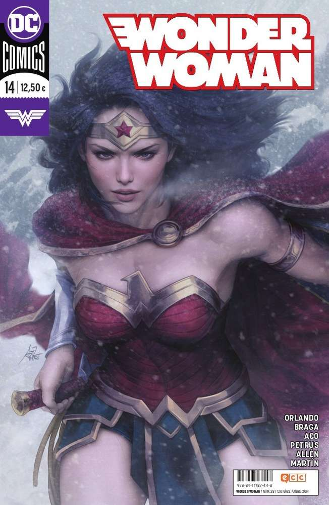 Wonder woman 14 DC Comics