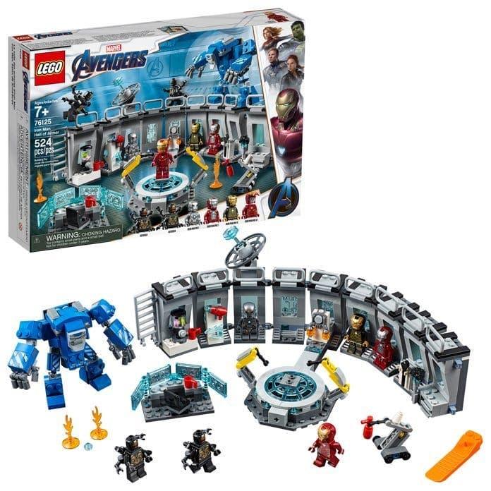 Nuevas armaduras de Iron Man
