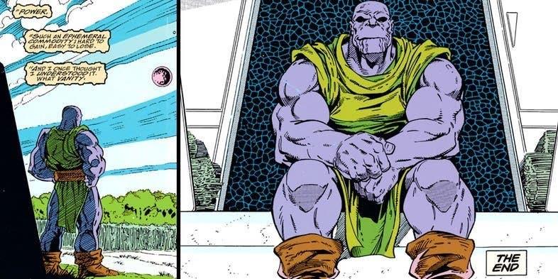 Thanos final Vengadores: Endgame