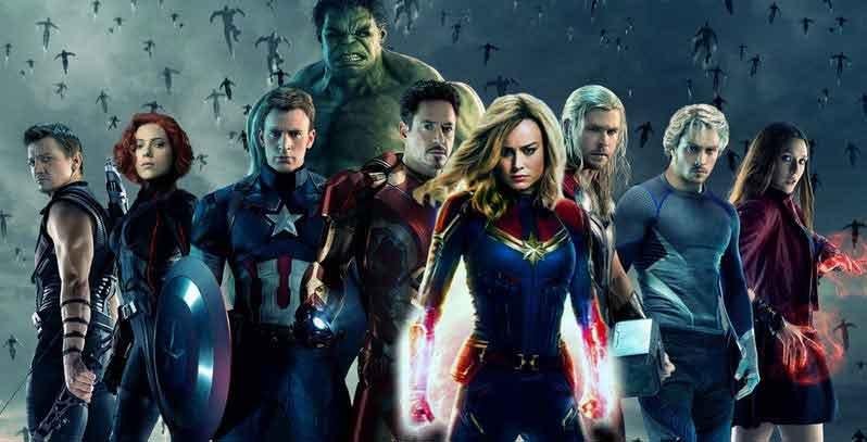 Capitana Marvel iba a debutar en Vengadores: La era de Ultron