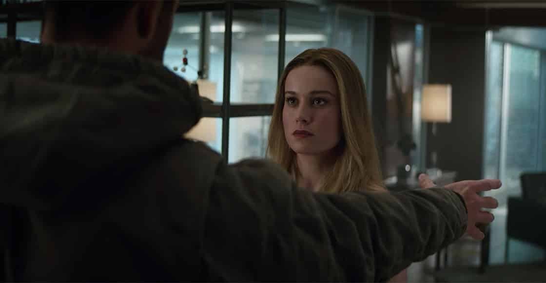 Brie Larson sabe como Capitana Marvel podría matar a Thanos fácilmente