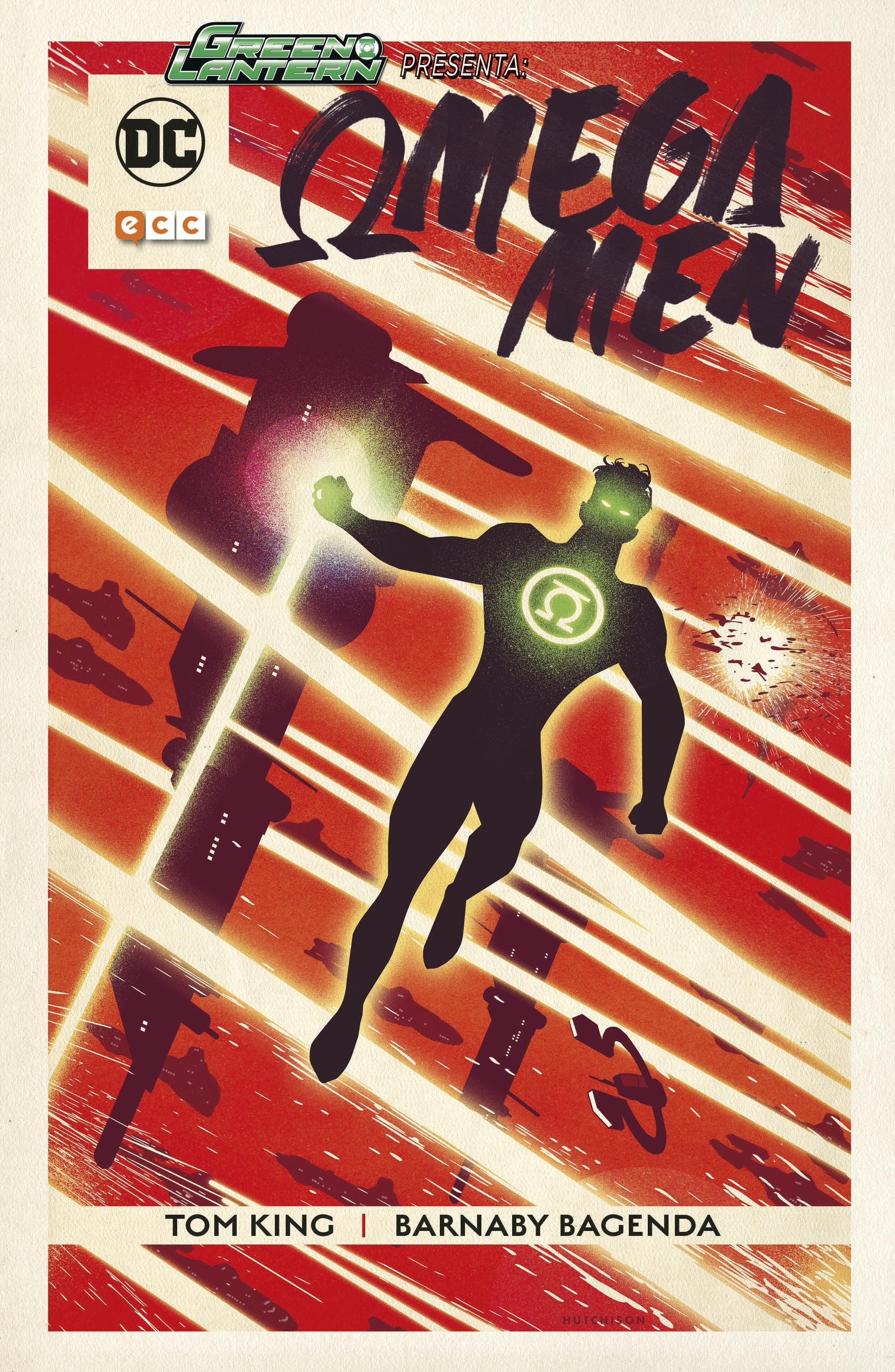 cubierta green lantern presenta omega men
