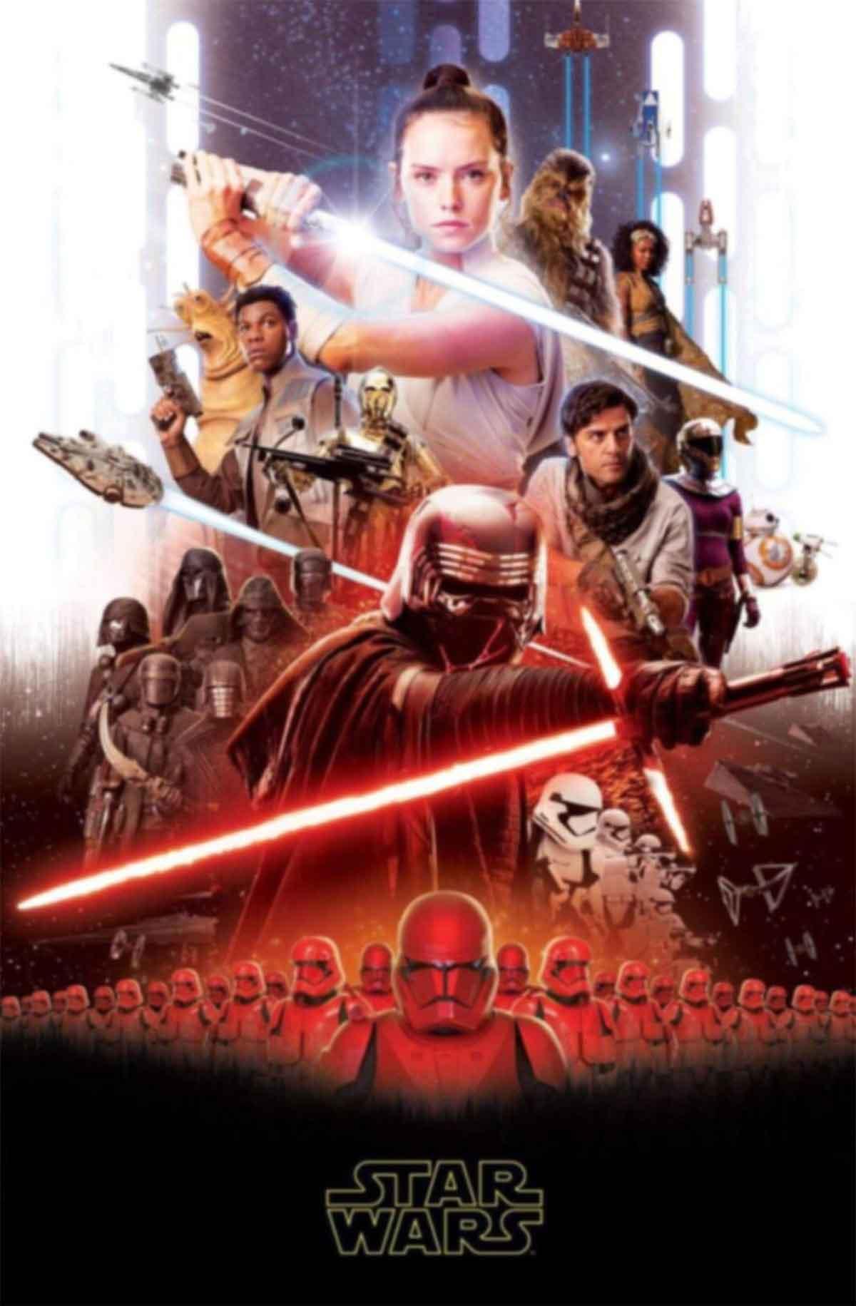 Primer tráiler de Star Wars: Rise of Skywalker