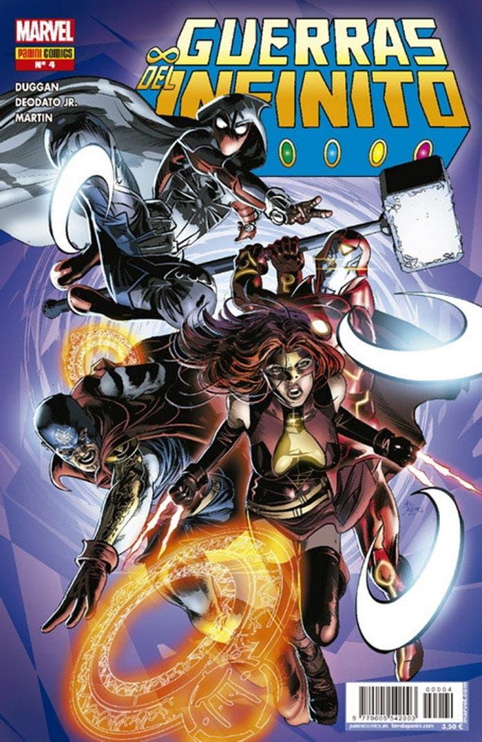 Guerras del Infinito 4 (Marvel - Panini Cómics)