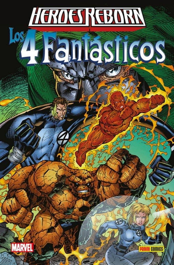 MARVEL | Heroes Reborn: Los 4 Fantásticos, de Jim Lee