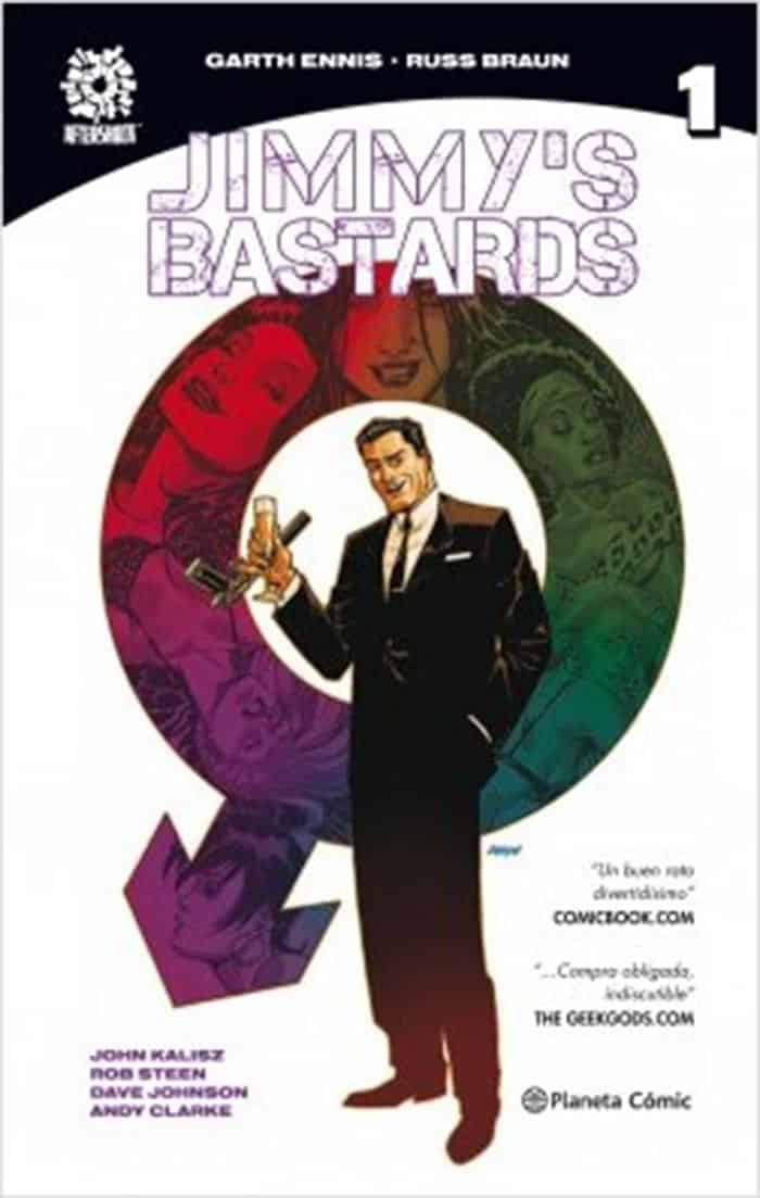 Reseña de 'Jimmy's Bastards 1': Garth Ennis regresa