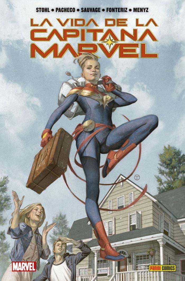 La vida de la Capitana Marvel (Marvel - Panini Cómics)