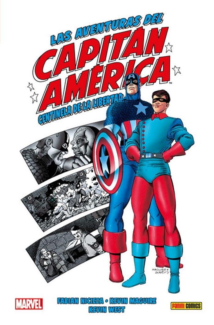 Las aventuras del Capitán América (Marvel - Panini Cómics)