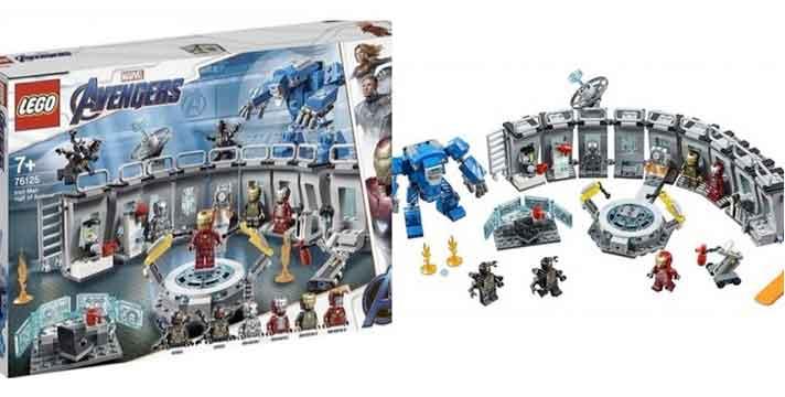 Set de LEGO muestra una batalla de Vengadores: Endgame
