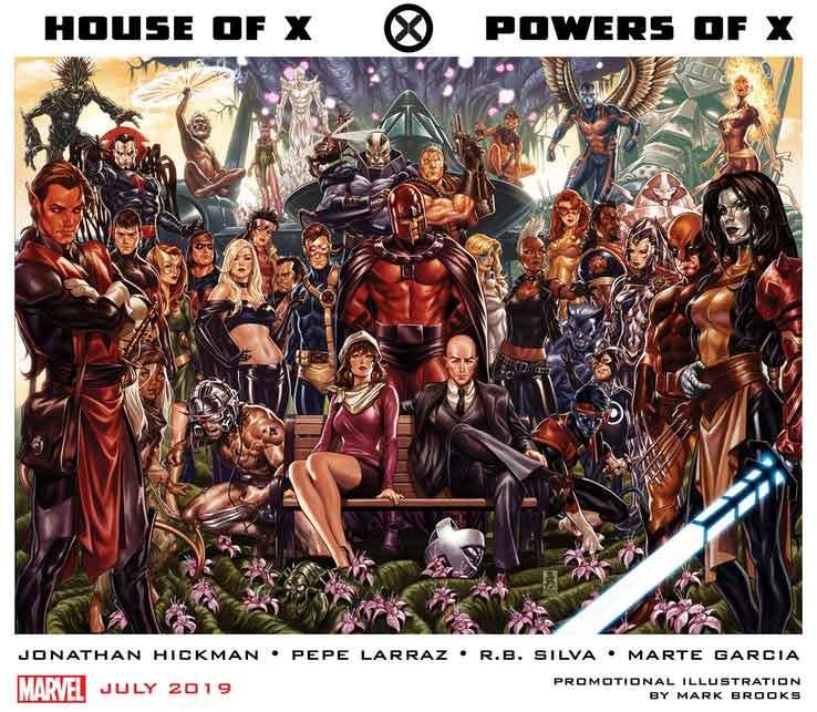 Marvel relanzará a los X-Men con el escritor de Infinity y Secret Wars