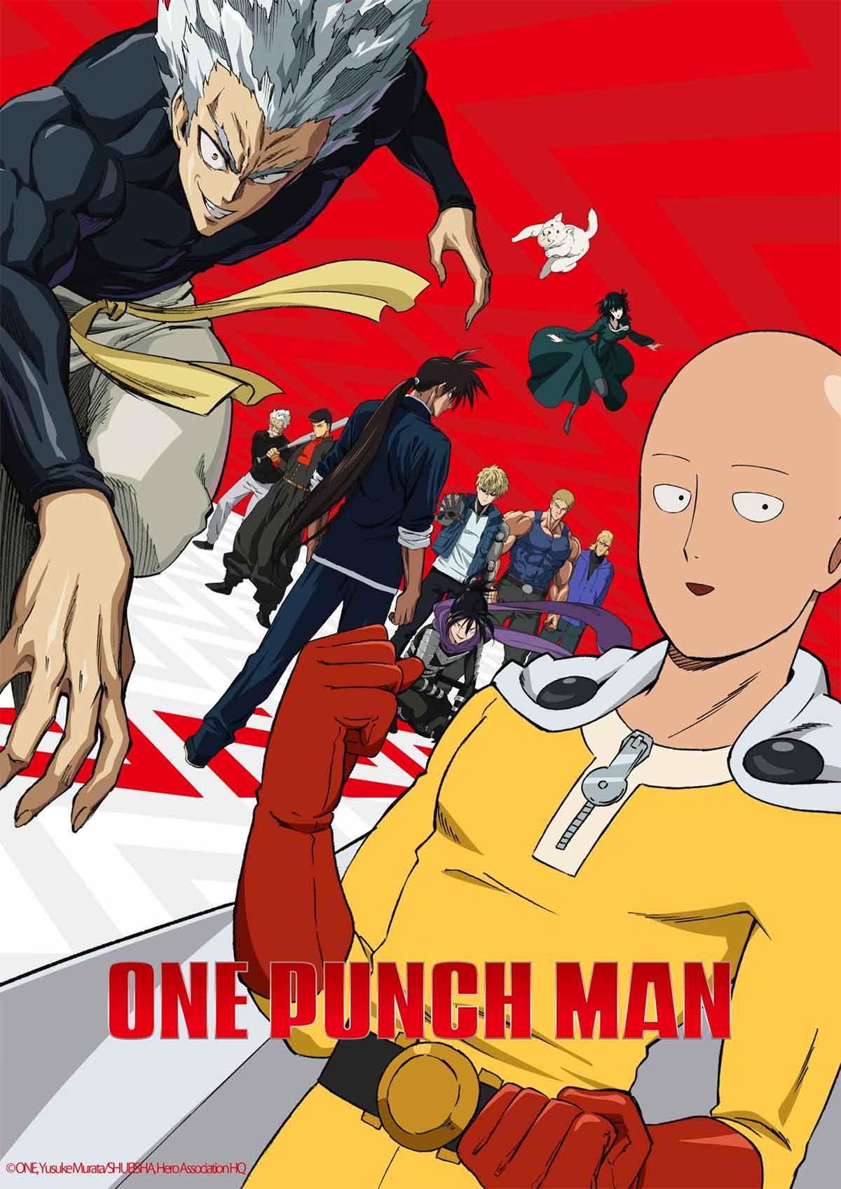 One Punch Man temporada 2 ya tiene fecha de estreno oficial