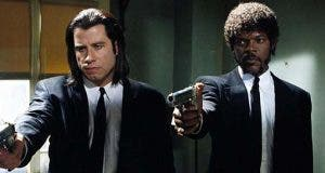 Samuel L. Jackson y John Travolta pulp fiction