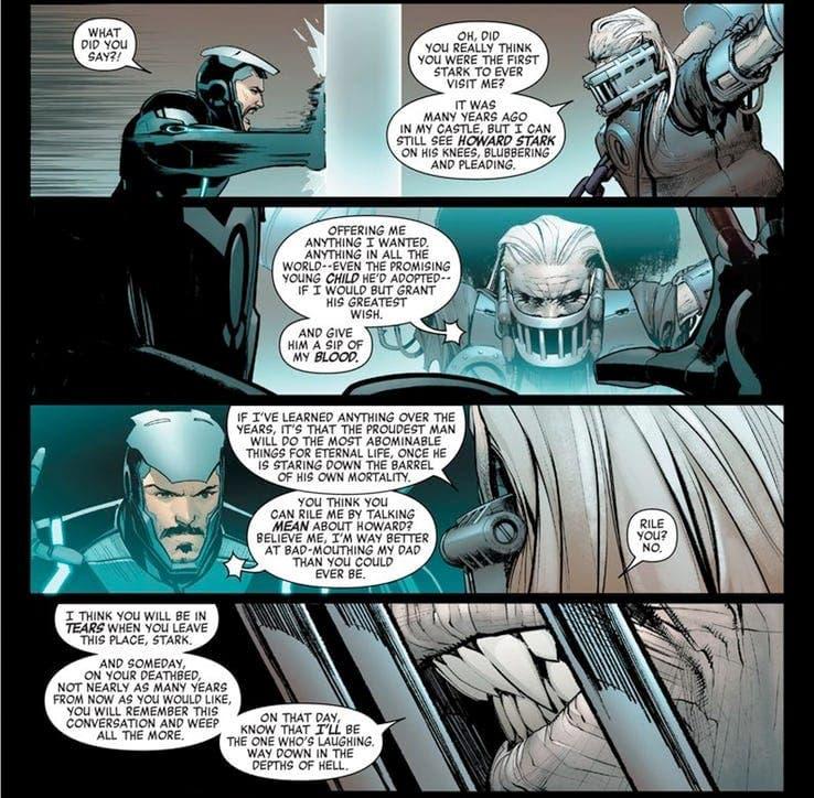 Tony Stark tiene un secreto de familia relacionado con un villano de Marvel