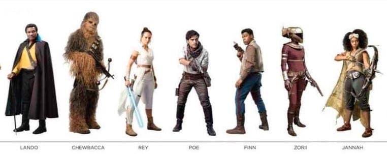 Lando Calrissian star wars IX