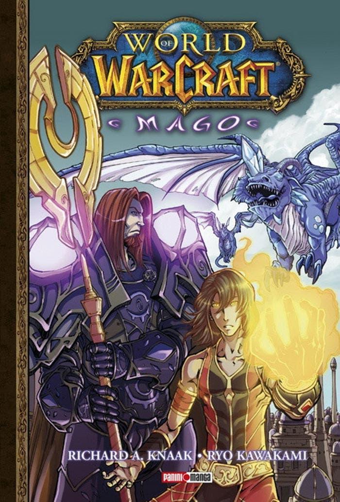 Hablamos de World of Warcraft: Mago, el manga editado por Panini Cómics basado en el exitoso mundo del videojuego de Blizzard.