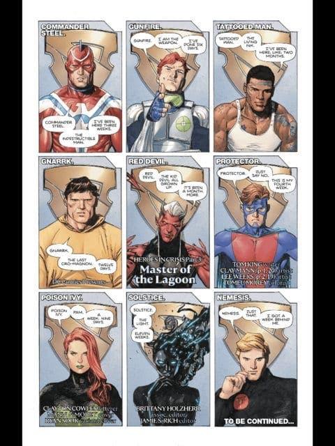 Heroes en Crisis (DC Comics) | ECC Ediciones