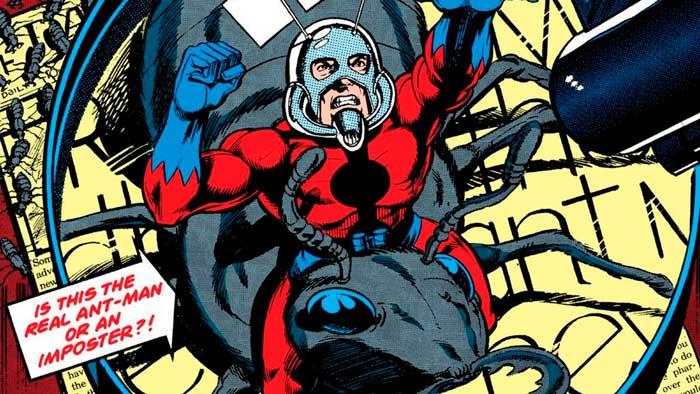 Ant-Man casco clásico