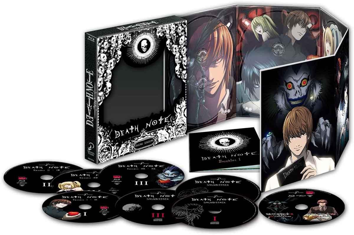 Death Note: Análisis del Blu-ray Edición Shinigami