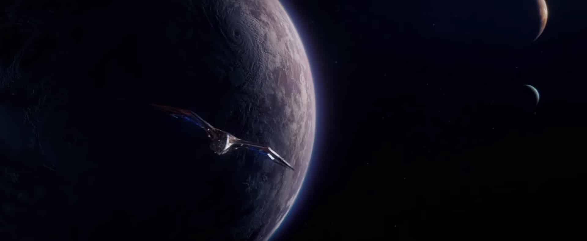 La milano en el espacio