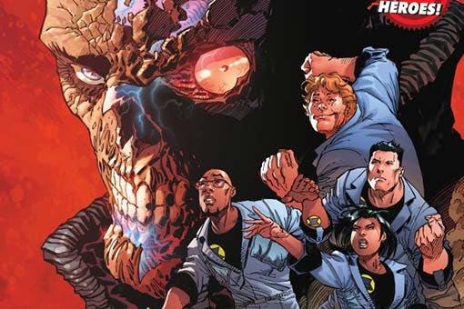 DC Comics Los Nuevos Investigadores de Scott Snyder y Aaron Gillespie