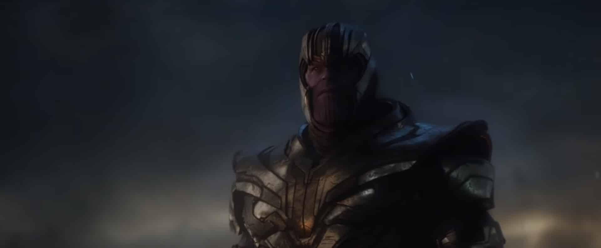Thanos viendo de nuevo a Iron Man