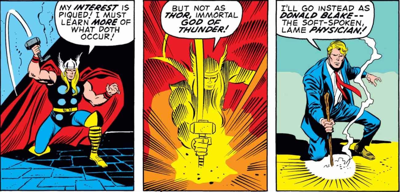 Superhéroes Thor
