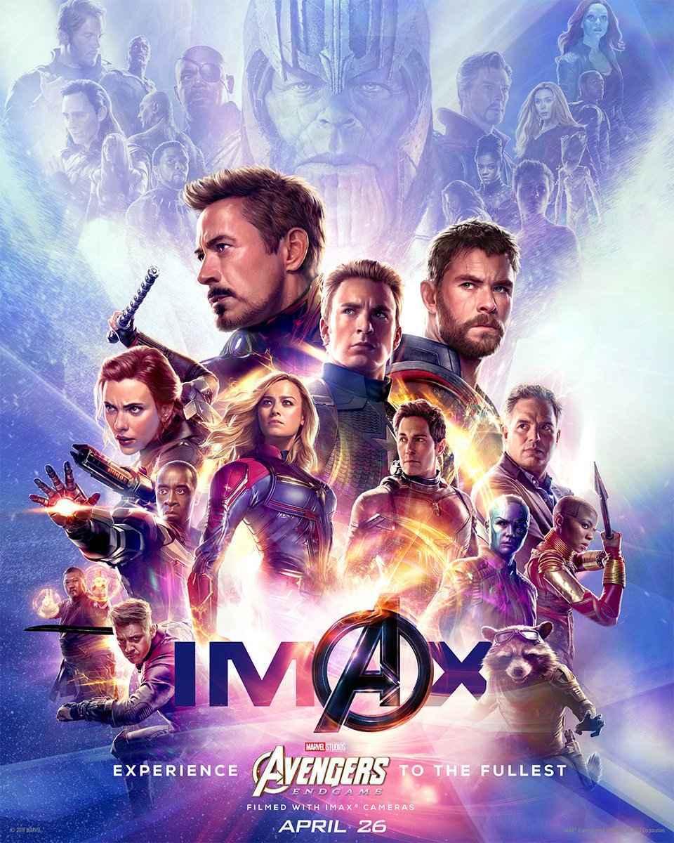 Vengadores: Endgame IMAX