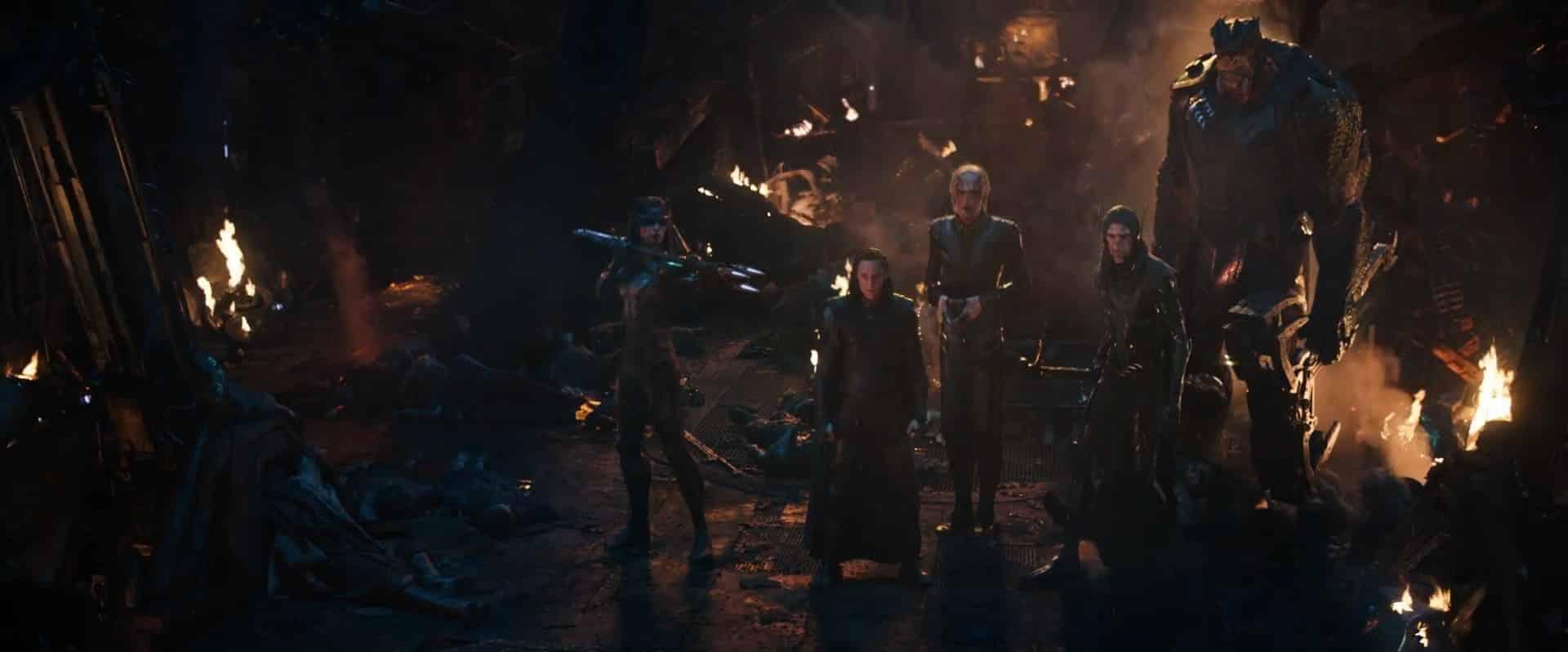 La orden negra de Thanos. black order