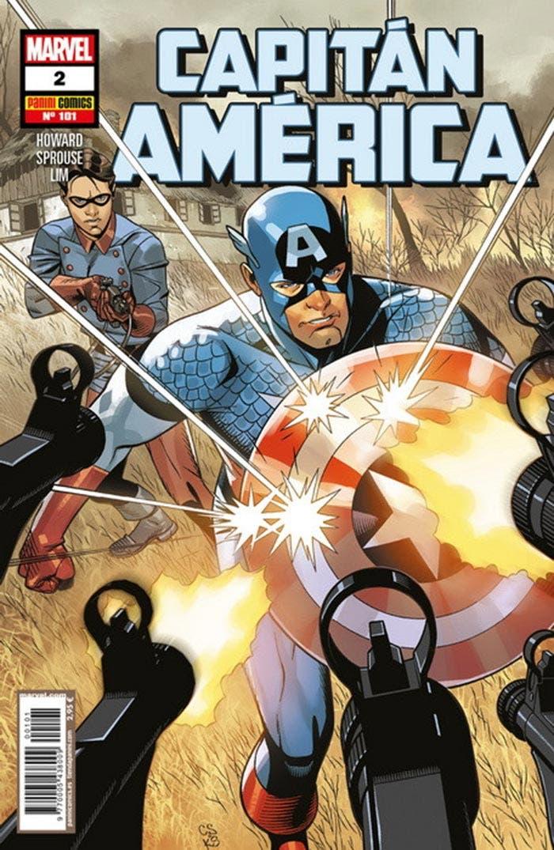 Capitán América 2 (Marvel - Panini Cómics)