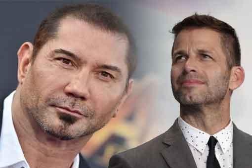 Zack Snyder ficha a Dave Bautista para su próxima película