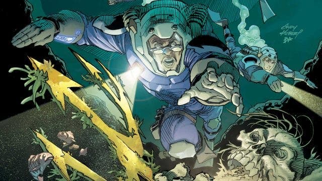 LOS NUEVOS INVESTIGADORES | ANDY KUBERT (DC COMICS)