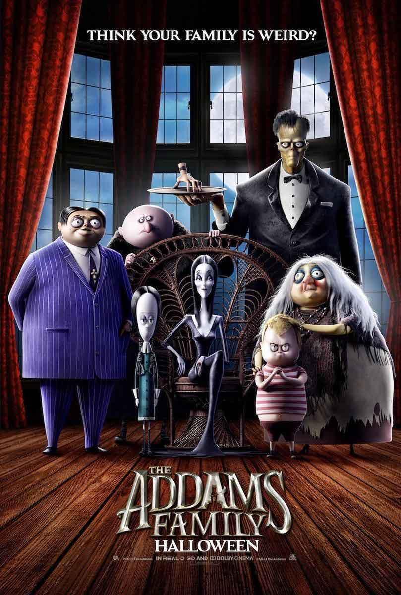 Tráiler de La Familia Addams de animación