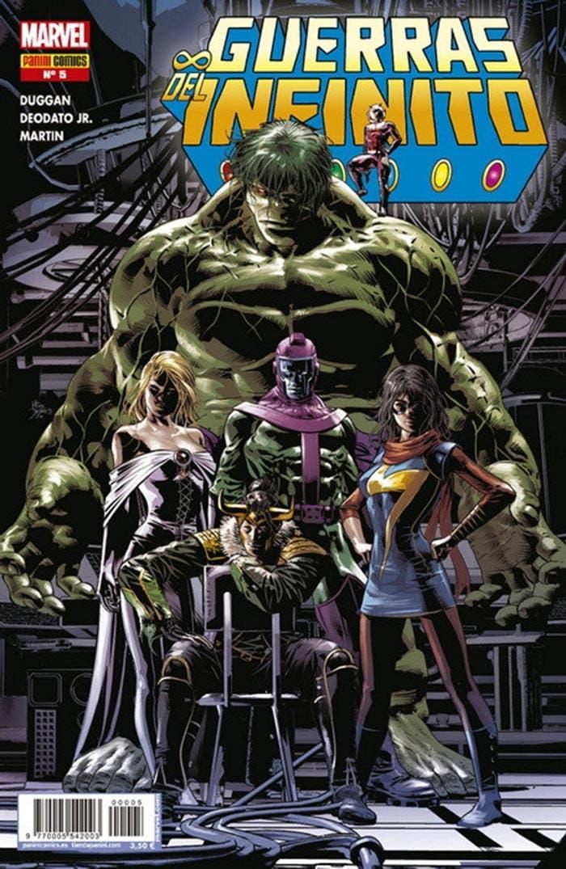Guerras del Infinito 5 (Marvel - Panini Cómics)