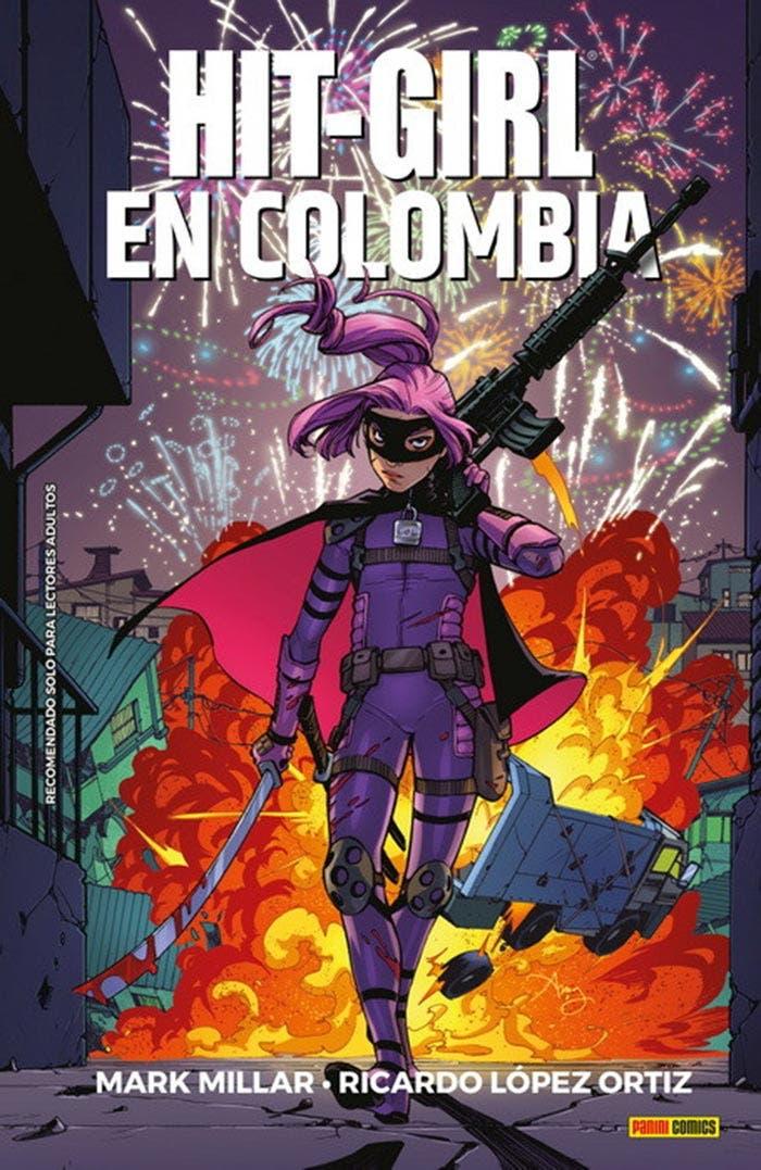 Hit-Girl en Colombia (Mark Millar - Panini Cómics) Kick-Ass
