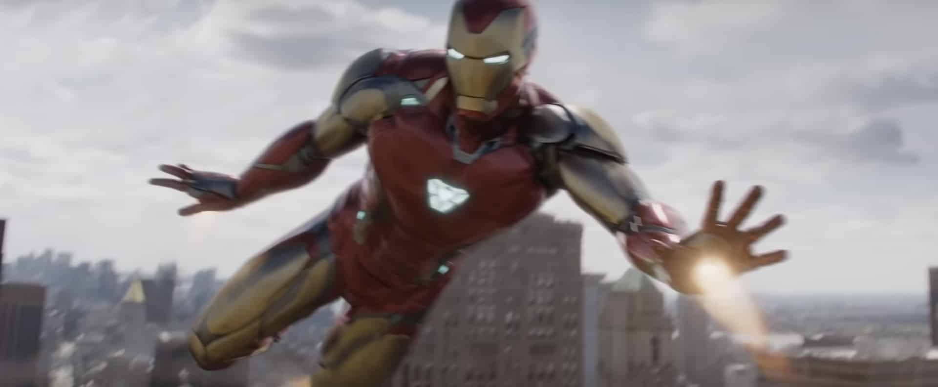 iron man en Marvel Vengadores: endgame