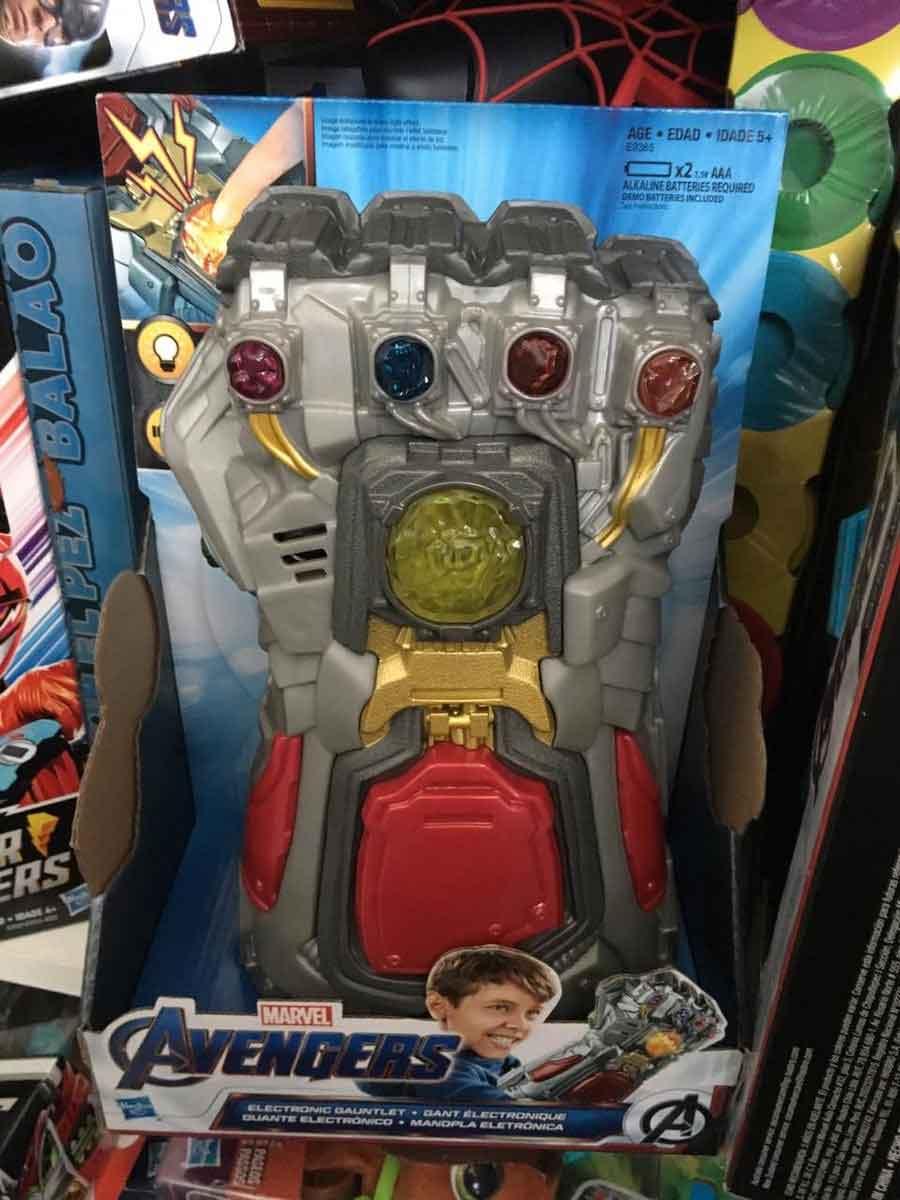 Vengadores: Endgame ¡Un juguete nos hace un gran SPOILER!