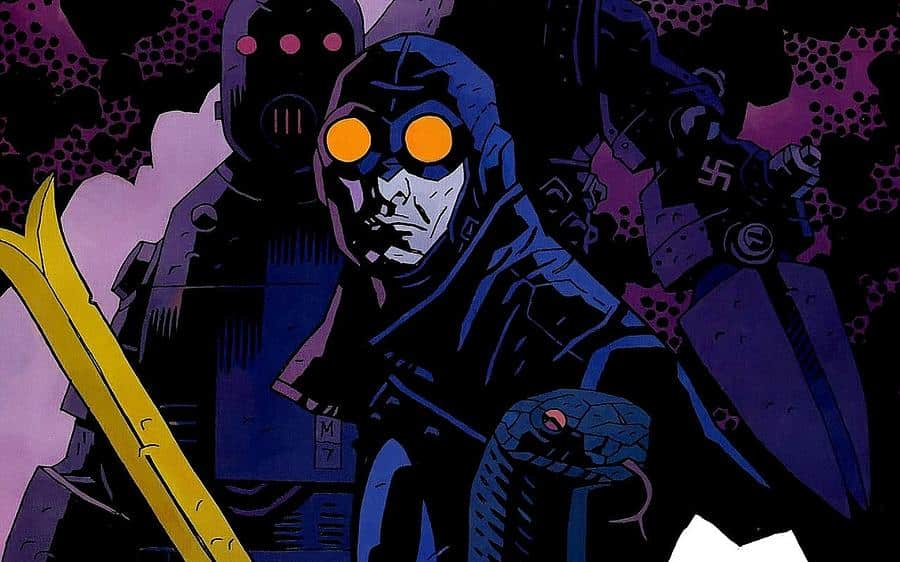 lobster johnson Hellboy