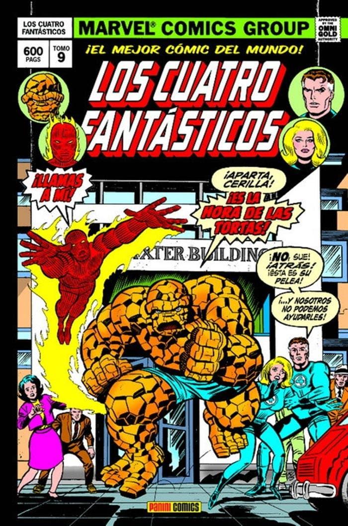Los 4 Fantásticos: Cuando los titanes chocan (Marvel - Panini Cómics)