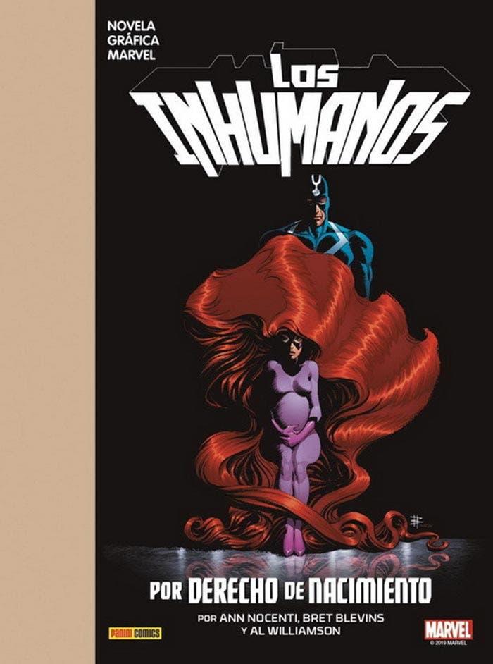Los Inhumanos: Por derecho de nacimiento (Marvel - Panini Cómics)