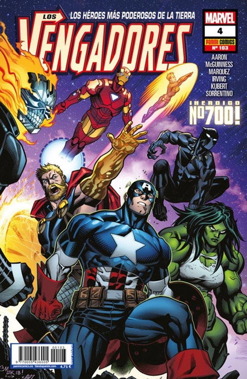 Los Vengadores 4 (Marvel - Panini Cómics)